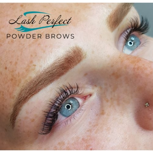 Ombre Powder Brows in Halifax
